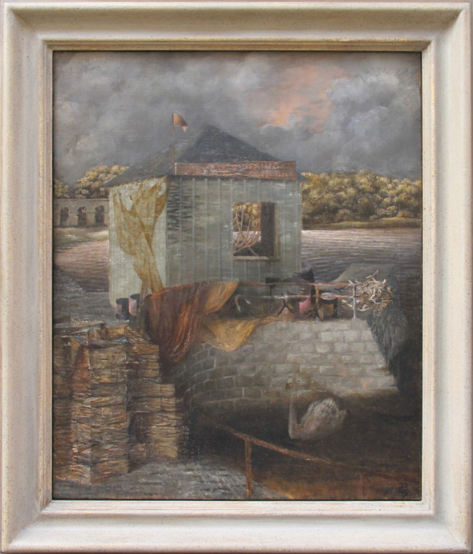 Prunella Clough, Inveraray Quay
