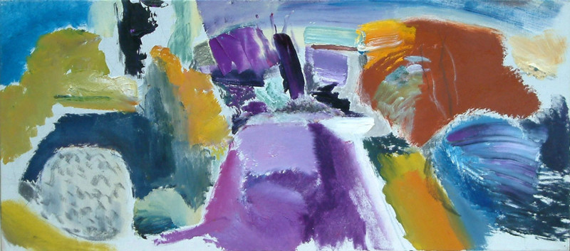 Ivon Hitchens, April Painting 1974