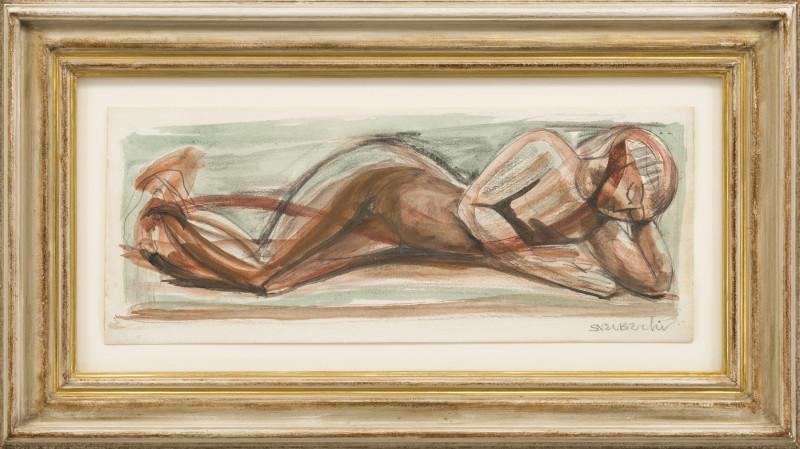 Sven Berlin, Reclining Nude