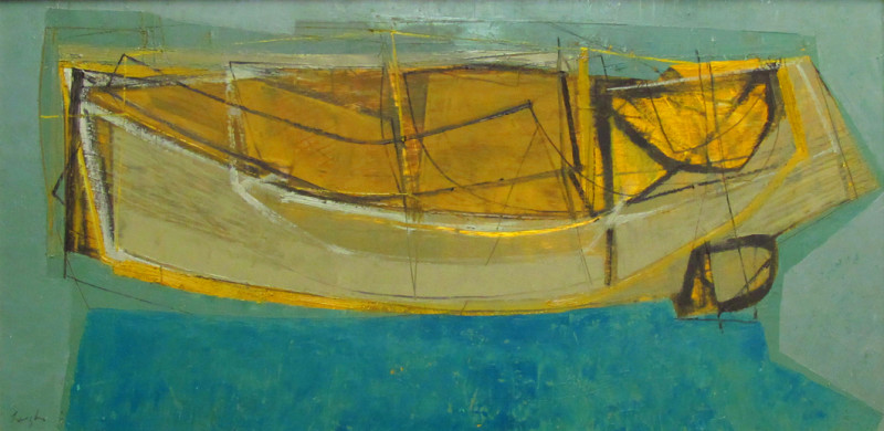 Leigh Davis, Yellow Boat, St Agnes, Isles of Scilly