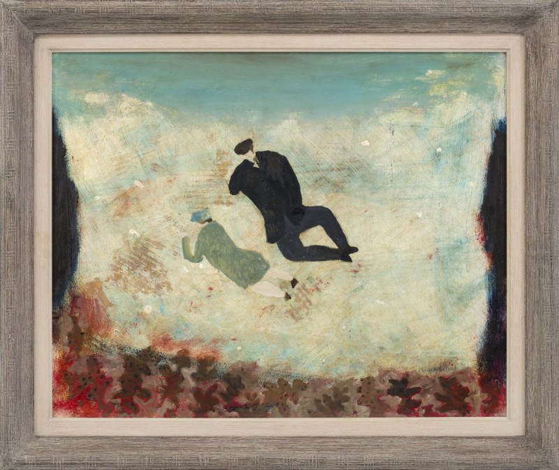 Mary Newcomb, Couple on the Rocks