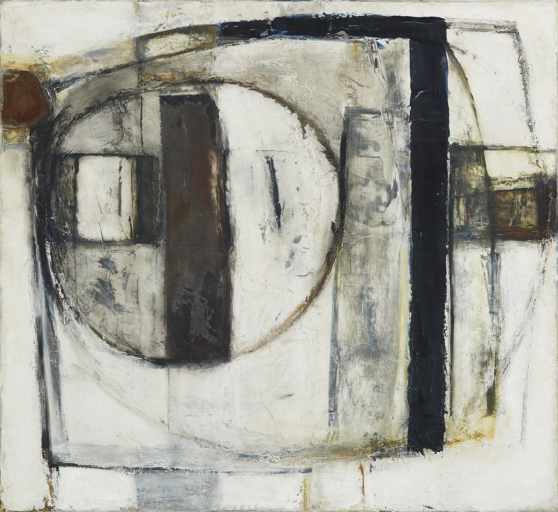 Paul Feiler, Enclosed Form, Black, 1964