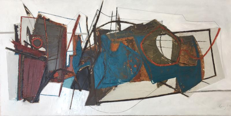 Leigh Davis, Wreck Fragment Composition No 1