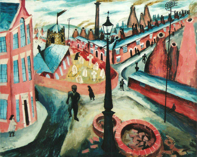 Julian Trevelyan, The Potteries