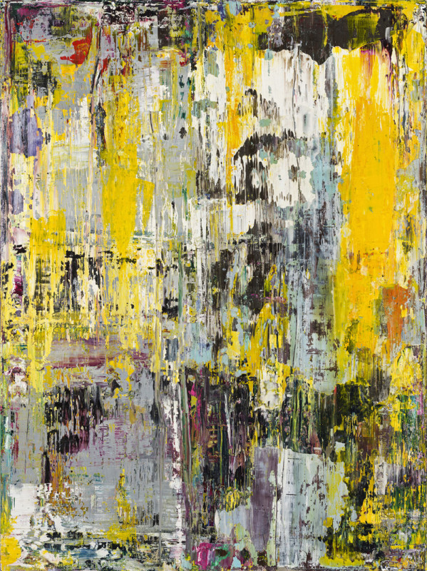 Jonathan S Hooper Cat 18 Erosion No 5 signed, titled and dated 2016/18 verso oil, wax and resin on board 61 x 45.5 cms (24 x 18 ins) framed: 66 x 51 cms (26 x 20 ins)