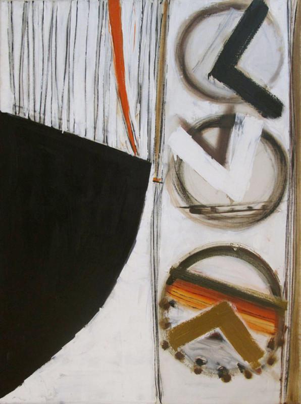 Terry Frost, Black, White & Orange