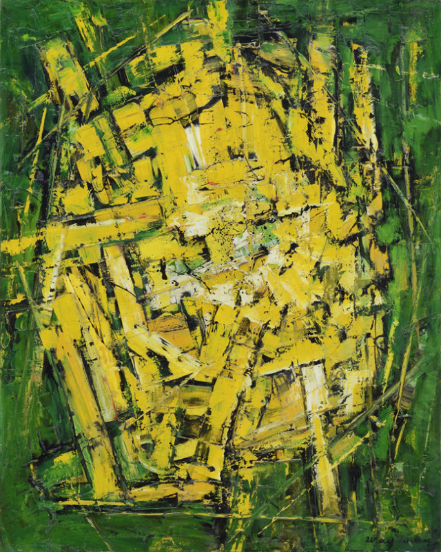 Frank Avray Wilson, Yellows on Green