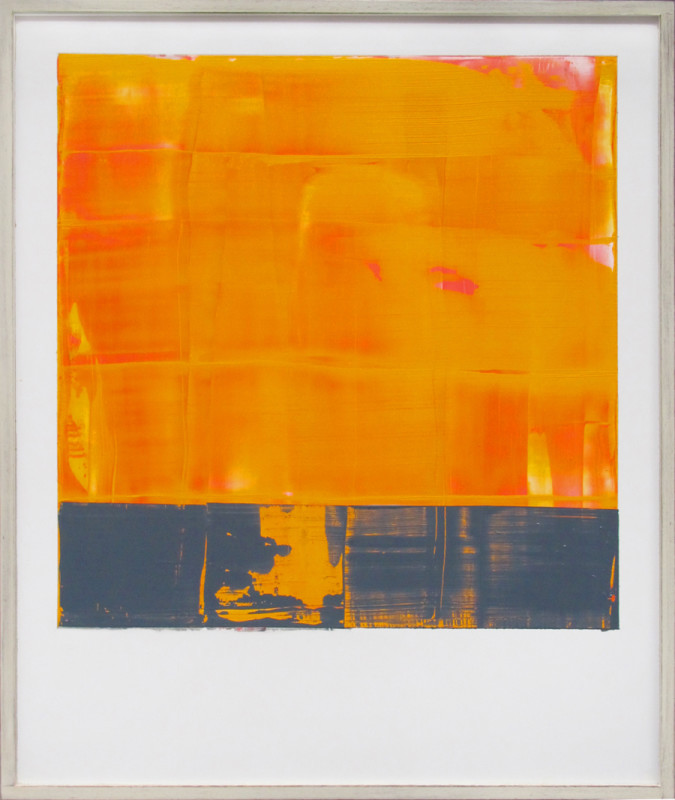 Jonathan S Hooper Born 1962Separation signed, titled and dated 2017 verso oil and resin on aluminium panel 65 x 54 cms (25½ x 21¼ ins) framed: 67 x 56 cms (26½ x 22 ins)