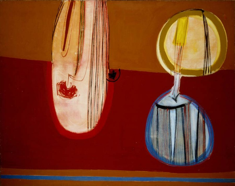 Terry Frost, Three for Mars Red