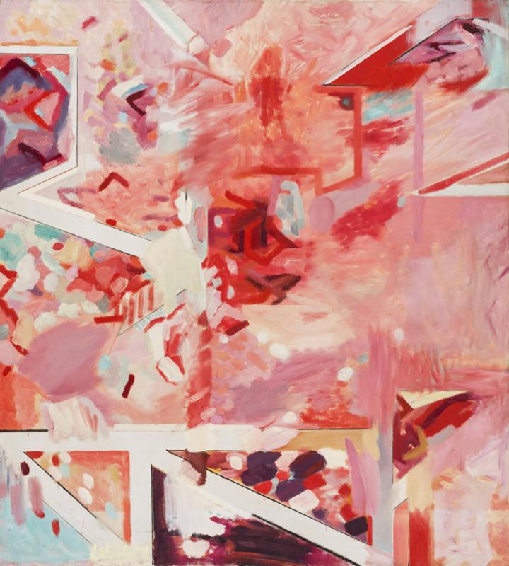Gary Wragg, November Trees Pink Light