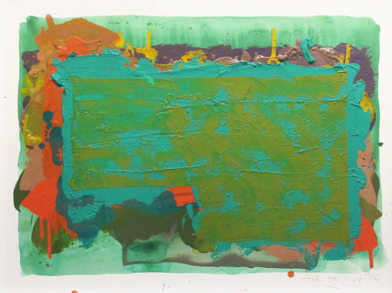 John Hoyland, Untitled 1976