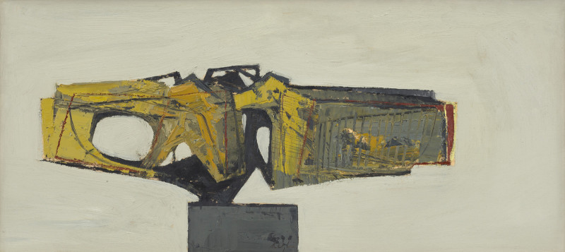 Leigh Davis, Paint Study for a Sculpture No 1, Isles of Scilly