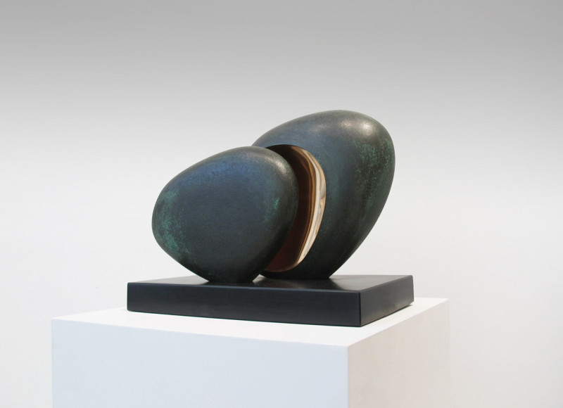 Tommy Rowe Born 1941 St Loy signed, titled and dated 2020 on base number 1 from an edition of 7 bronze on slate base 20 x 25 cms (7¾ x 9¾ ins)