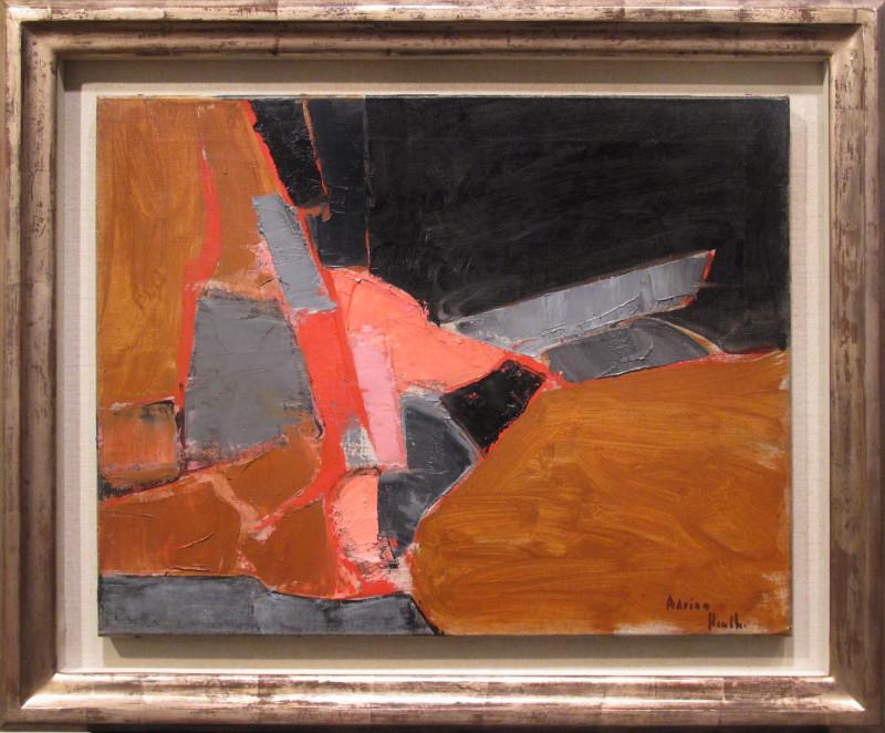 Adrian Heath, Study, 1958