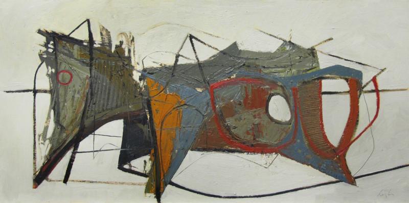 Leigh Davis, Wreck Fragment Composition No 2