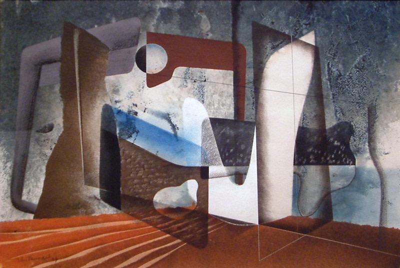 John Tunnard, Composition