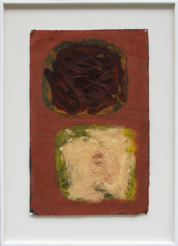 Patrick Heron, Plum and Dirty Naples