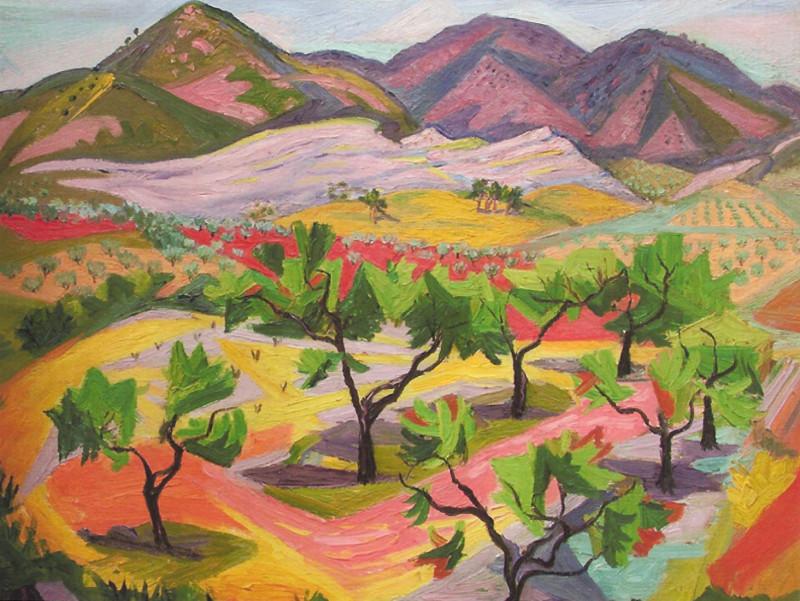 Frederick Gore, Les Baux de Provence