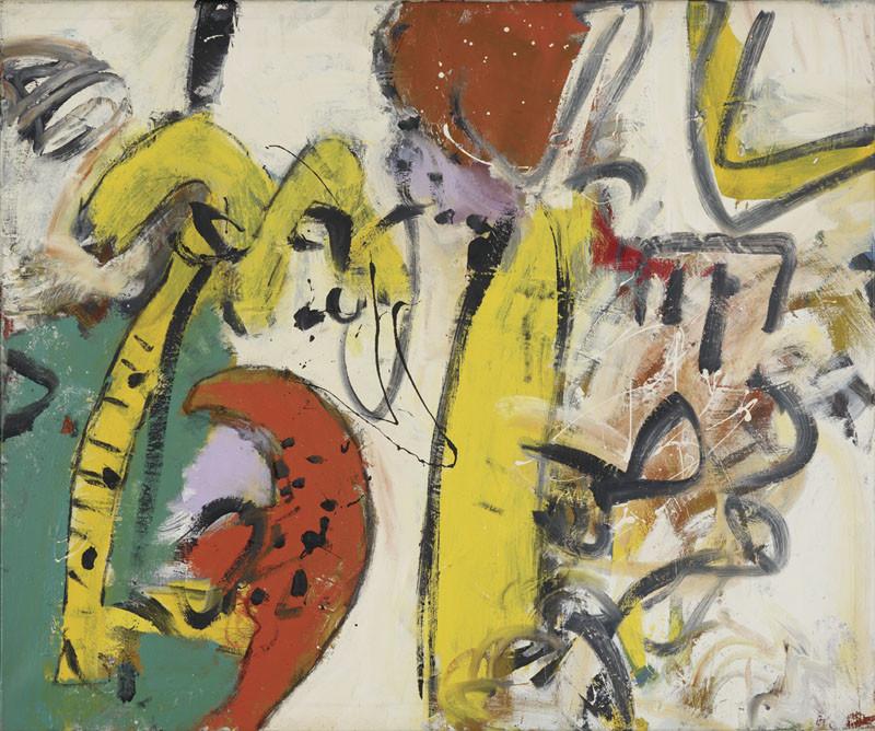 Alan Davie, Lemon Quadrille