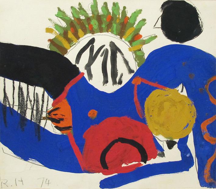 Roger Hilton, Untitled 1974