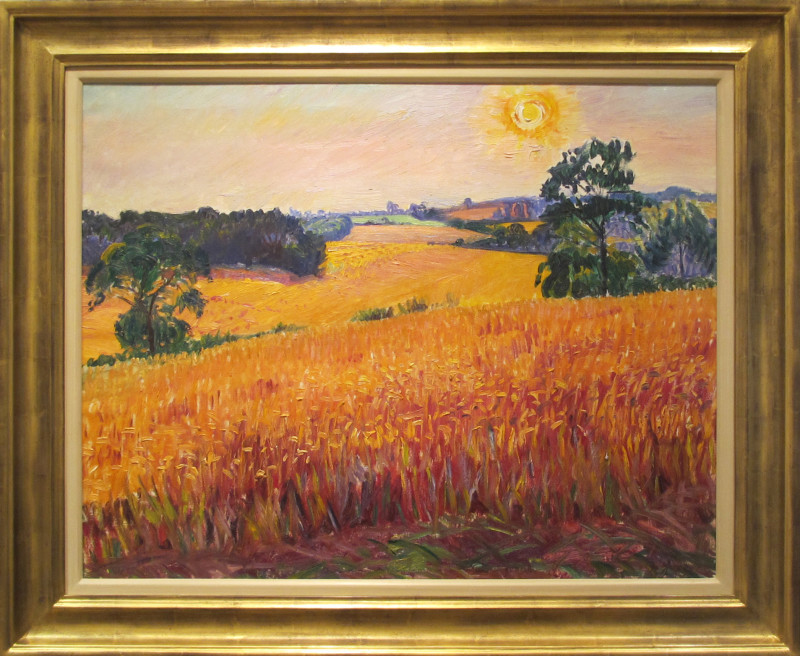Frederick Gore, Sunset, Clements Reach, Meopham