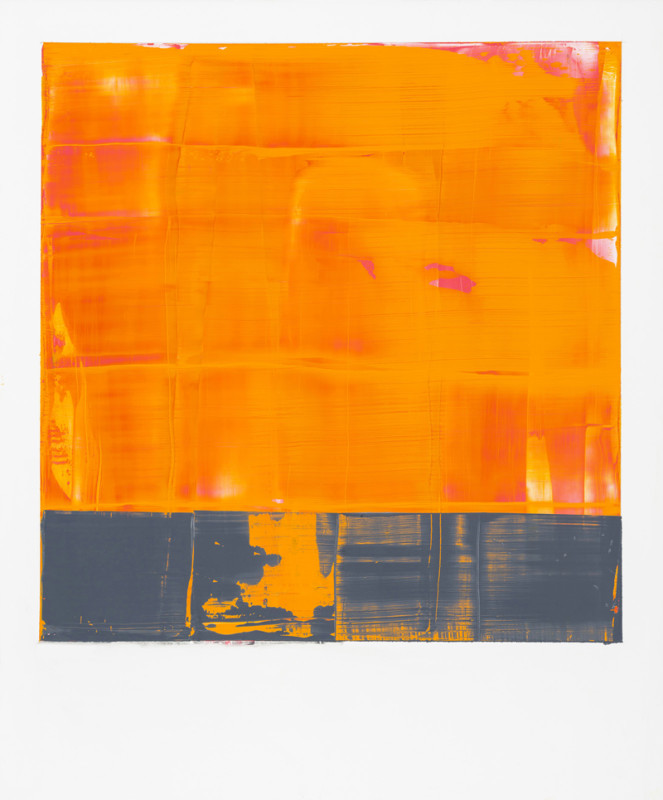 Jonathan S Hooper Cat 24 Separation signed, titled and dated 2017 verso oil and resin on aluminium panel 65 x 54 cms (25½ x 21¼ ins) framed: 67 x 56 cms (26½ x 22 ins)