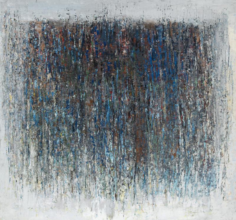 Paul Feiler, Evening Landscape, Blue