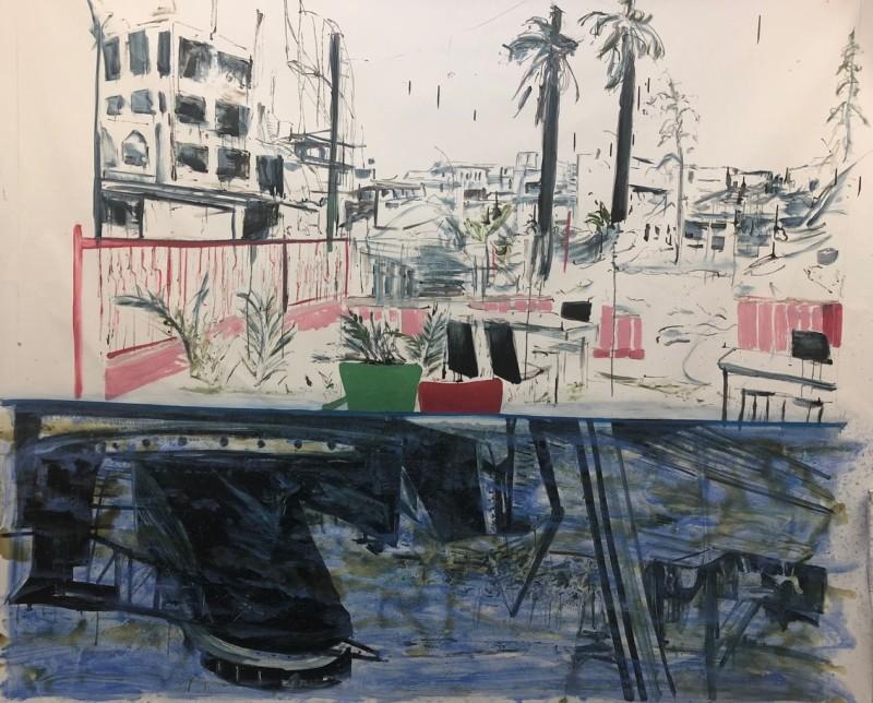 Rob Visje, Reflexion harbour , 2019