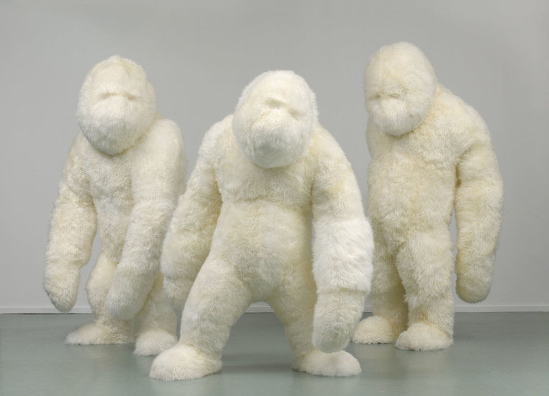 Marjolijn Mandersloot, The Three Hunks, 2010