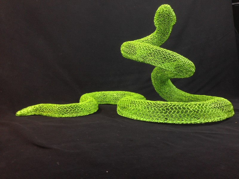 Eka Acosta, Green Snake, 2018