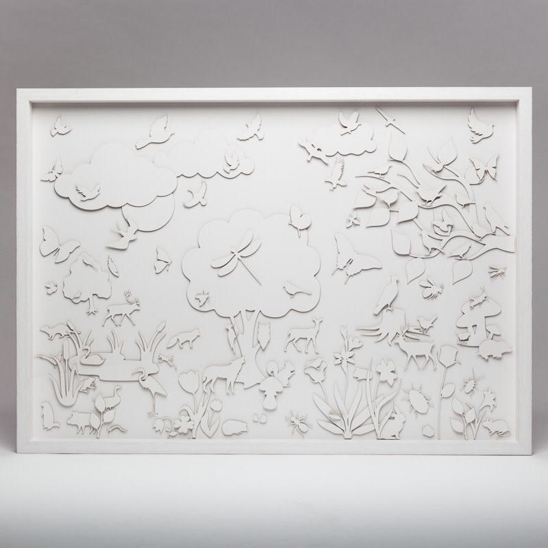 Natasja van der Meer, White shadows, 2016