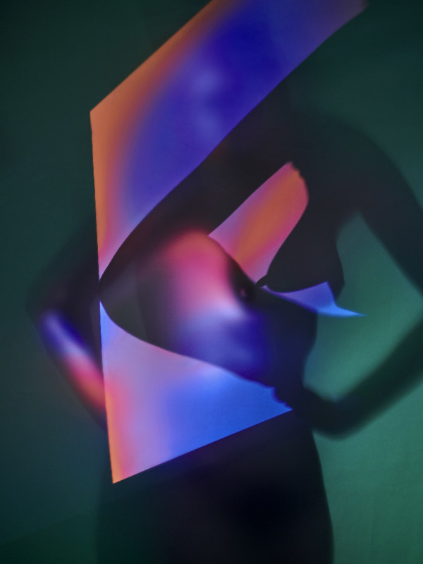 Carli Hermès, Distortion - Squared, 2018