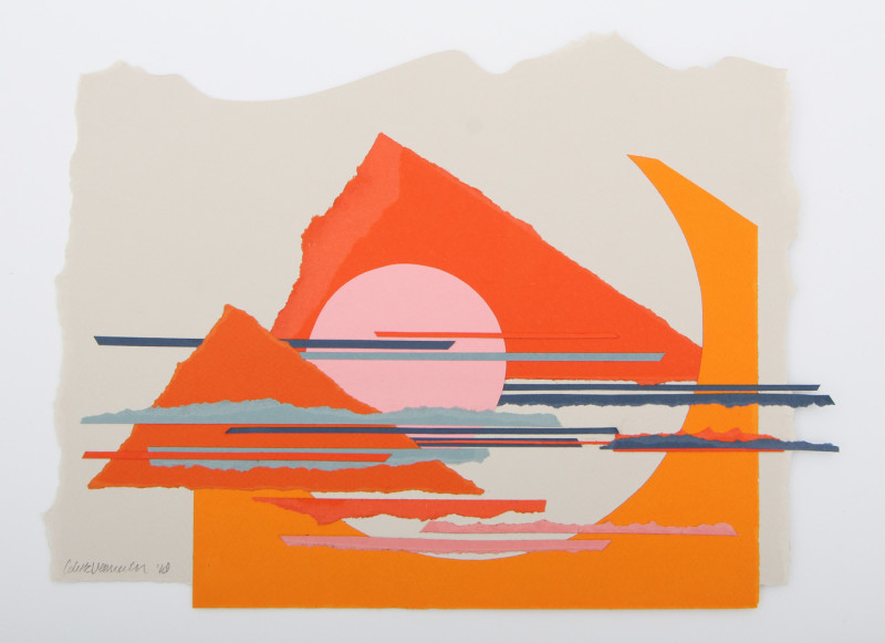 Colette Vermeulen, Abstract Mountains, 2018
