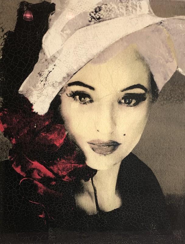 Lita Cabellut, Marilyn Monroe - I, 2012