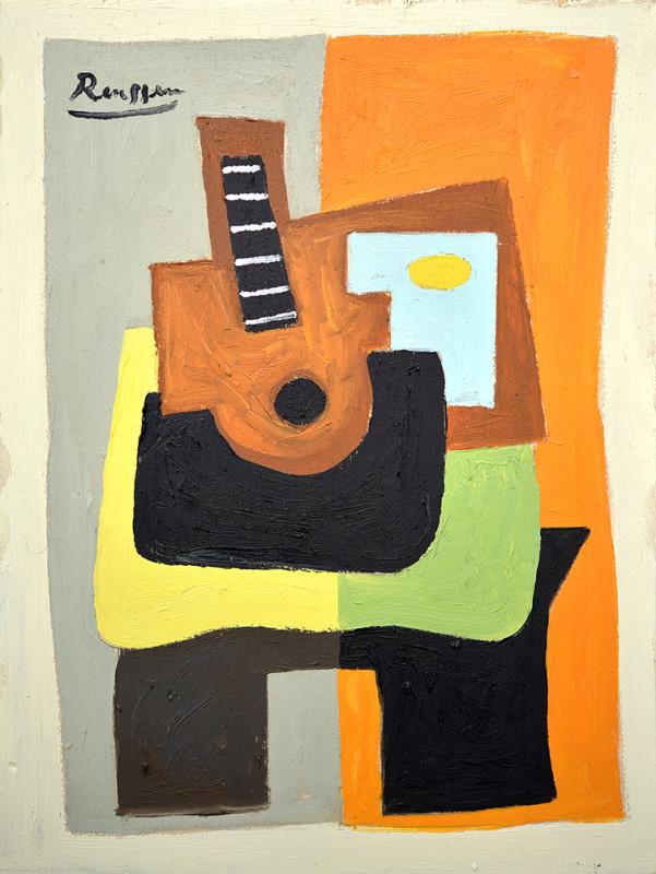 Erik Renssen, Instruments on a table, 2020