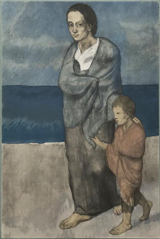 Pablo Picasso, Femme et enfant, 2021