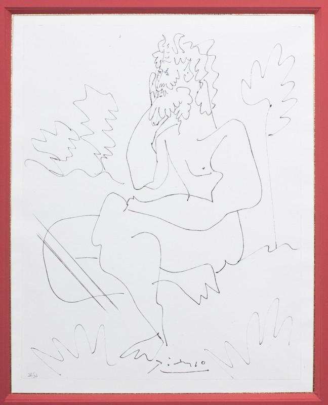 Pablo Picasso, L'Homme, 1954