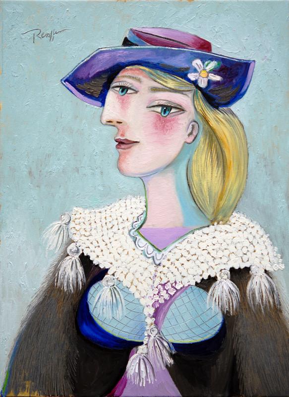 Erik Renssen, Girl in a woolen scarf, 2013