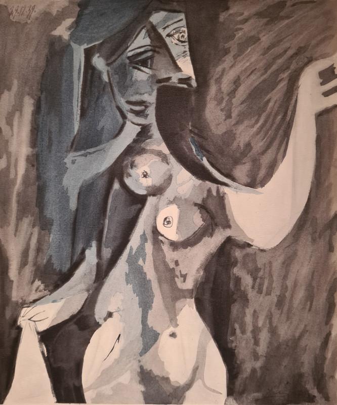 Pablo Picasso, Nude, 1939, 1955