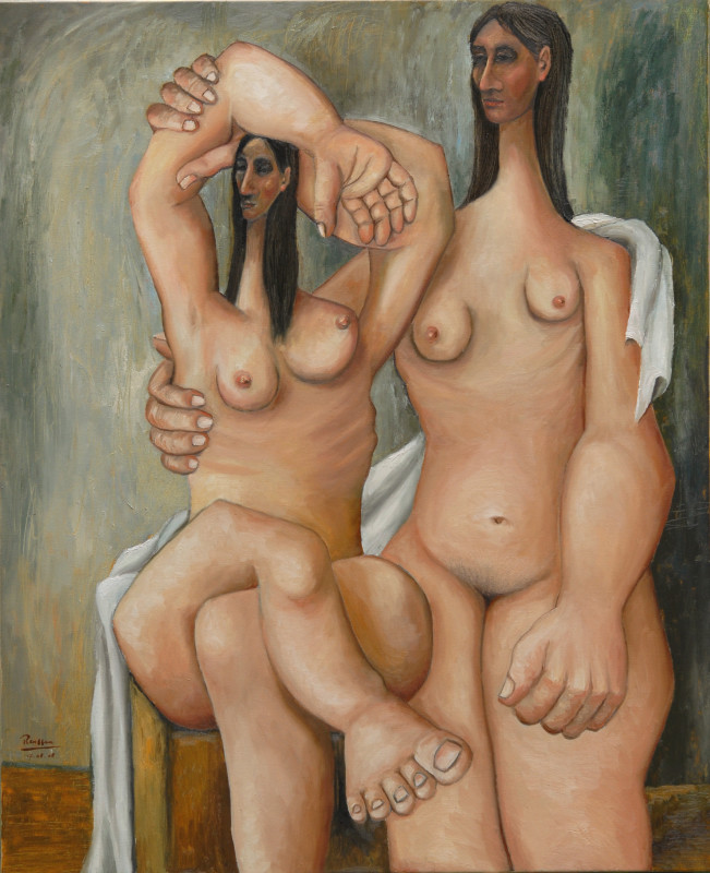 Erik Renssen, Two nude women, 2008