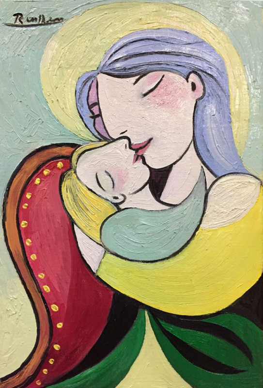 Erik Renssen, Mother with child, 2018