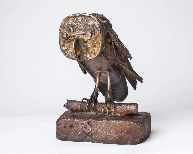 Erik Renssen, Stone owl, 2020