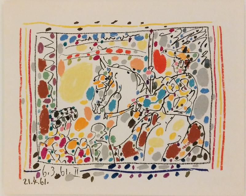 Pablo Picasso, Toros, Le picador II, 1961