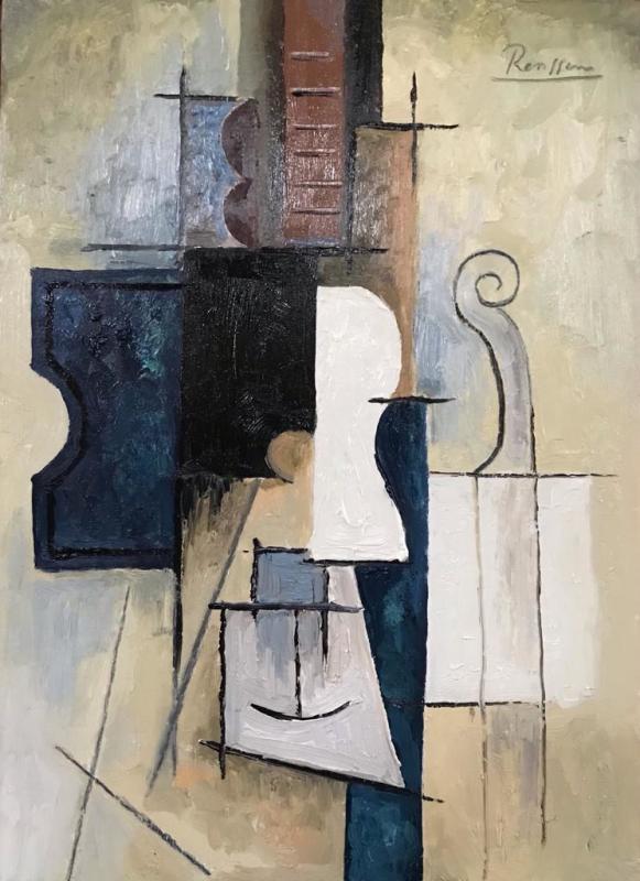 Erik Renssen, Composition with instruments, 2021