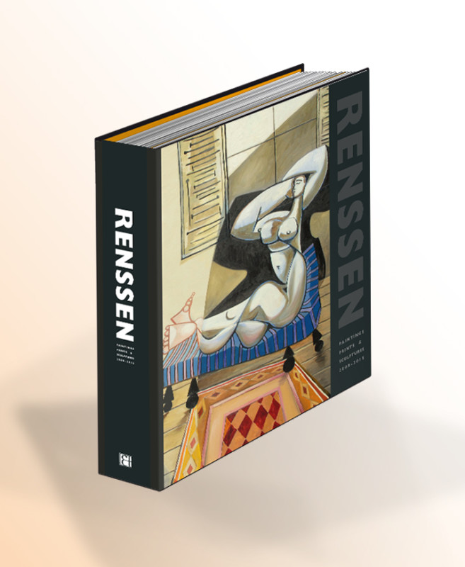Erik Renssen, RENSSEN BOOK - Paintings, Prints and Sculpture, 2009-2015