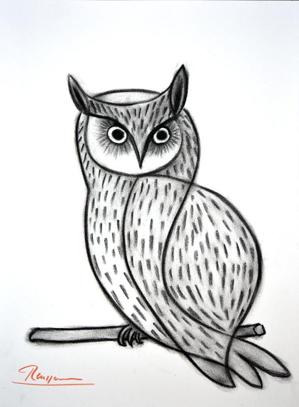Erik Renssen, Owl, 2019