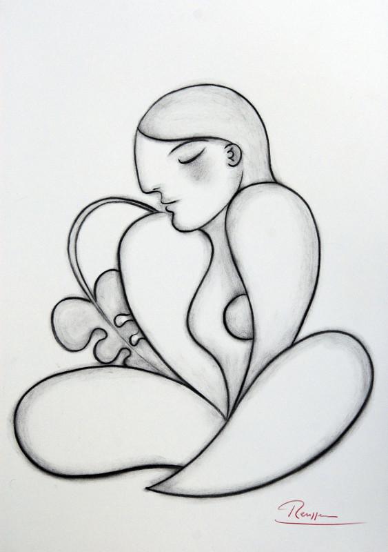 Erik Renssen, Lotus woman, 2017
