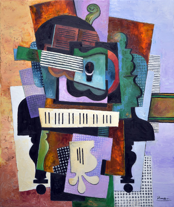 Erik Renssen, Instruments on a piano, 2019