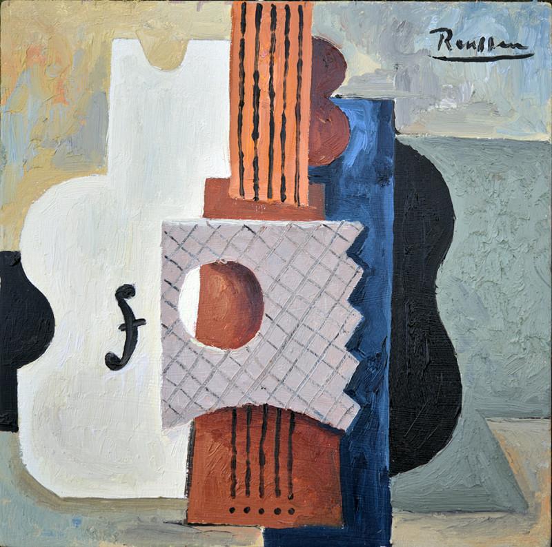 Erik Renssen, XS / Composition with instruments, 2021