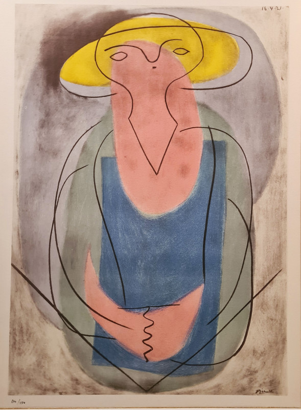 Pablo Picasso, Portrait of a lady, 1921, 1946